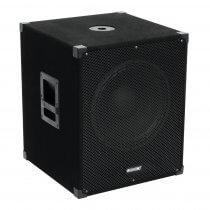 "Omnitronic MagiCarpet-151A 15"" Active Subwoofer Bass Bin Speaker 1000W DJ Disco"