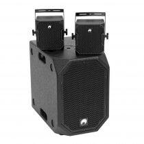 Omnitronic Set BOB-10A Black + 2 x BOB-4 Black PA System Speaker 900W DJ Disco