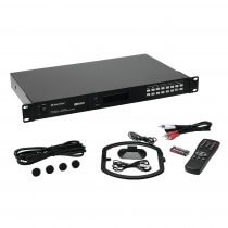 Omnitronic TUNA-ONE 1U Rackmount Tuner RDS FM inc Remote Control Studio DJ
