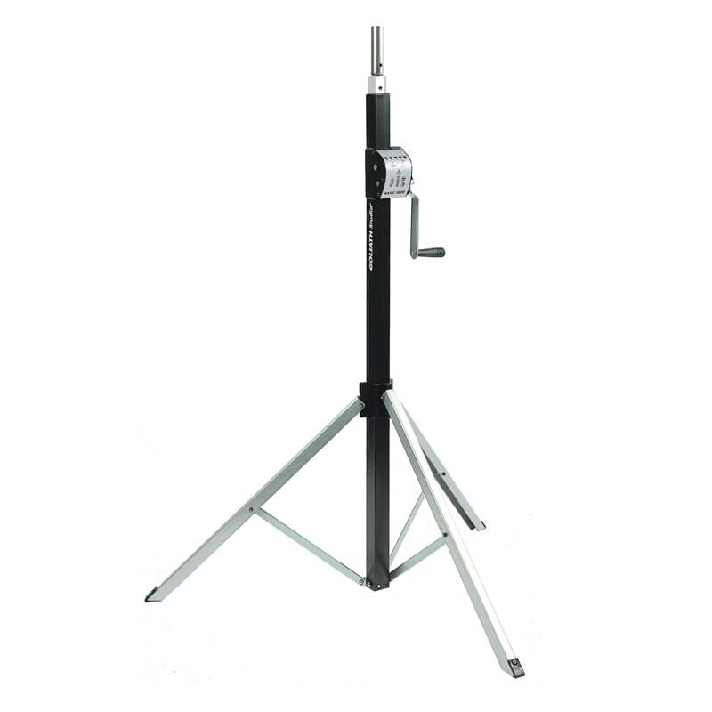 Showtec Goliath Studio Basic 3800 Wind Up Stand for Lighting 3.8m 80kg