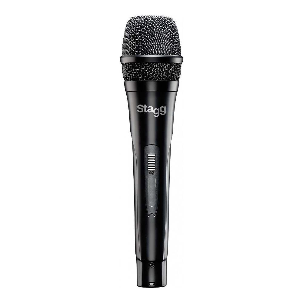 Stagg SDMP30 Dynamic Handheld Microphone inc. XLR to Jack Cable