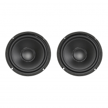 "2x MCM Audio 6.5"" 50W RMS Speaker Driver PA 8ohm"