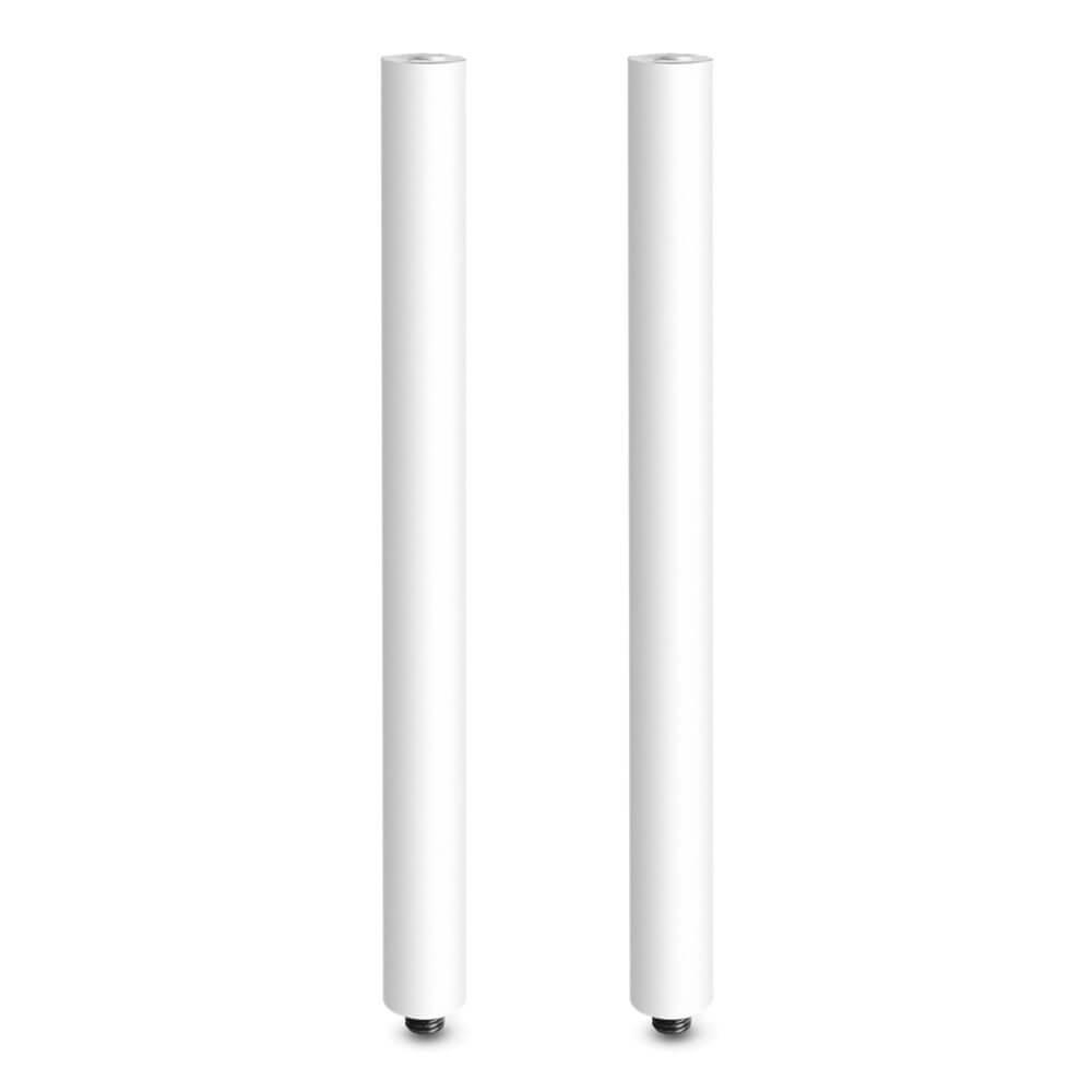 2x GRAVITY SPEAKER EXTENSION POLE M20 50cm( WHITE)