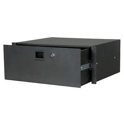 19 Inch Rack Drawer - 4U Lockable Flightcase Studio