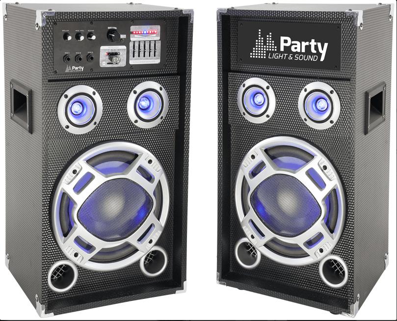"""Ibiza Party Karaoke 12"""" Sound System 600W"""