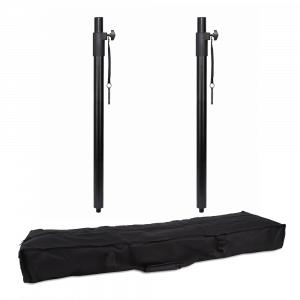 2x Rhino M20 35mm Speaker Poles inc Padded Bag