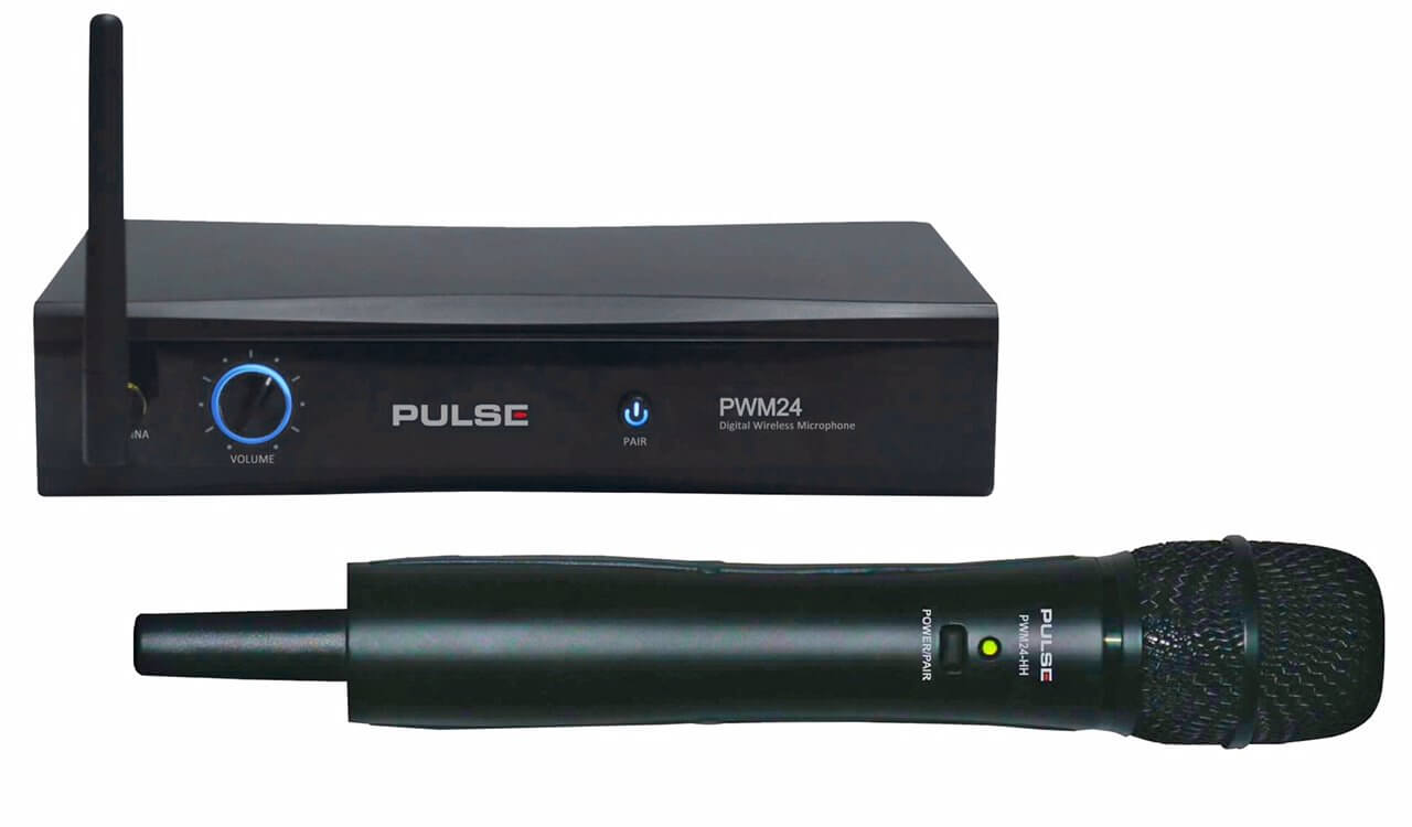 PULSE  PWM24-HH  2.4GHz Wireless Handheld Microphone System