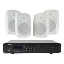 Adastra A2 Amplifier and BH8 Speakers Package