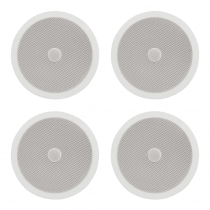 4x Adastra C8D Ceiling Speakers with Directional Tweeters