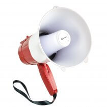 L15RC Rechargeable Megaphone with USB/SD and Loop Recorder