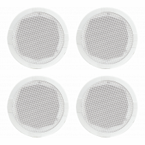 "4x Adastra RC5 5.25"" 35W Ceiling Speakers"