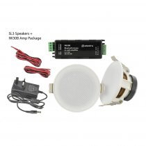 Adastra SL3-BT Ceiling Speakers and Amplifier Package 30W HIFI Background Sound System