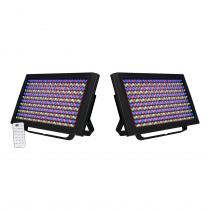 2x ADJ LED Profile Panels (RGBA)