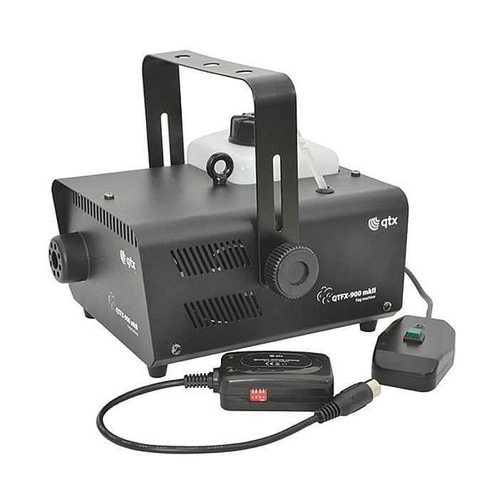QTX QTFX-900 Smoke Machine 900W inc wireless remote