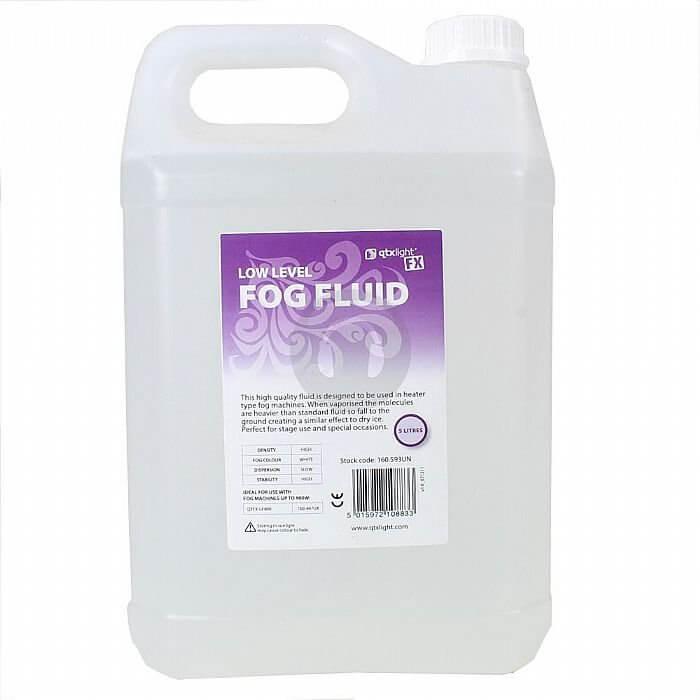 QTX Low Fog Fluid 5 Litre