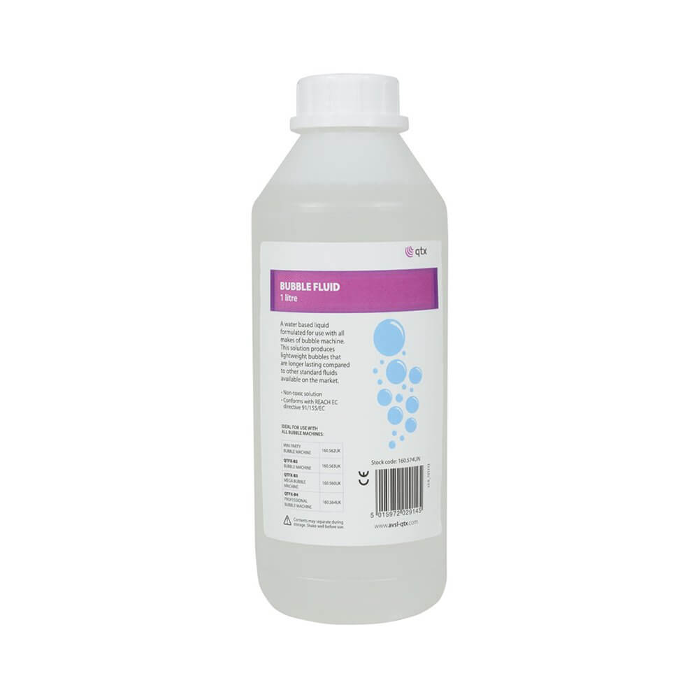 QTX Bubble Fluid 1 Litre