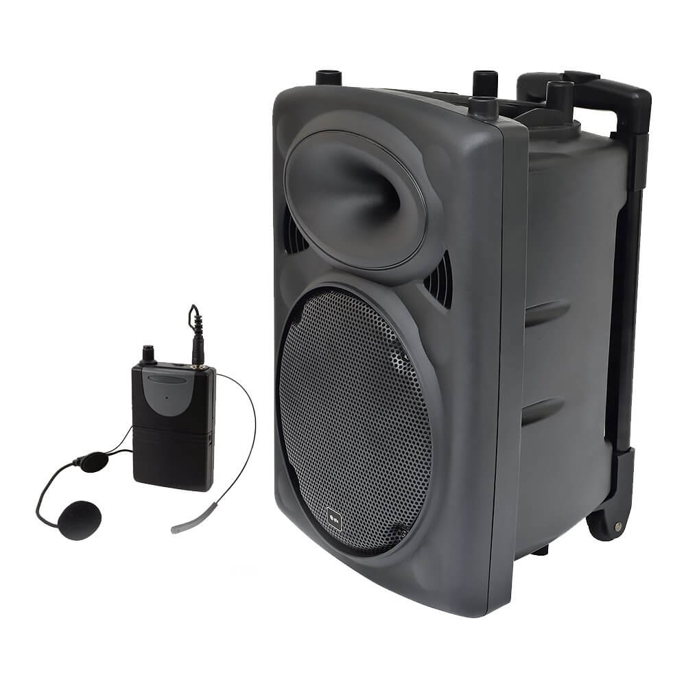 QTX QR10PA Portable PA System with VHF Wireless Neckband