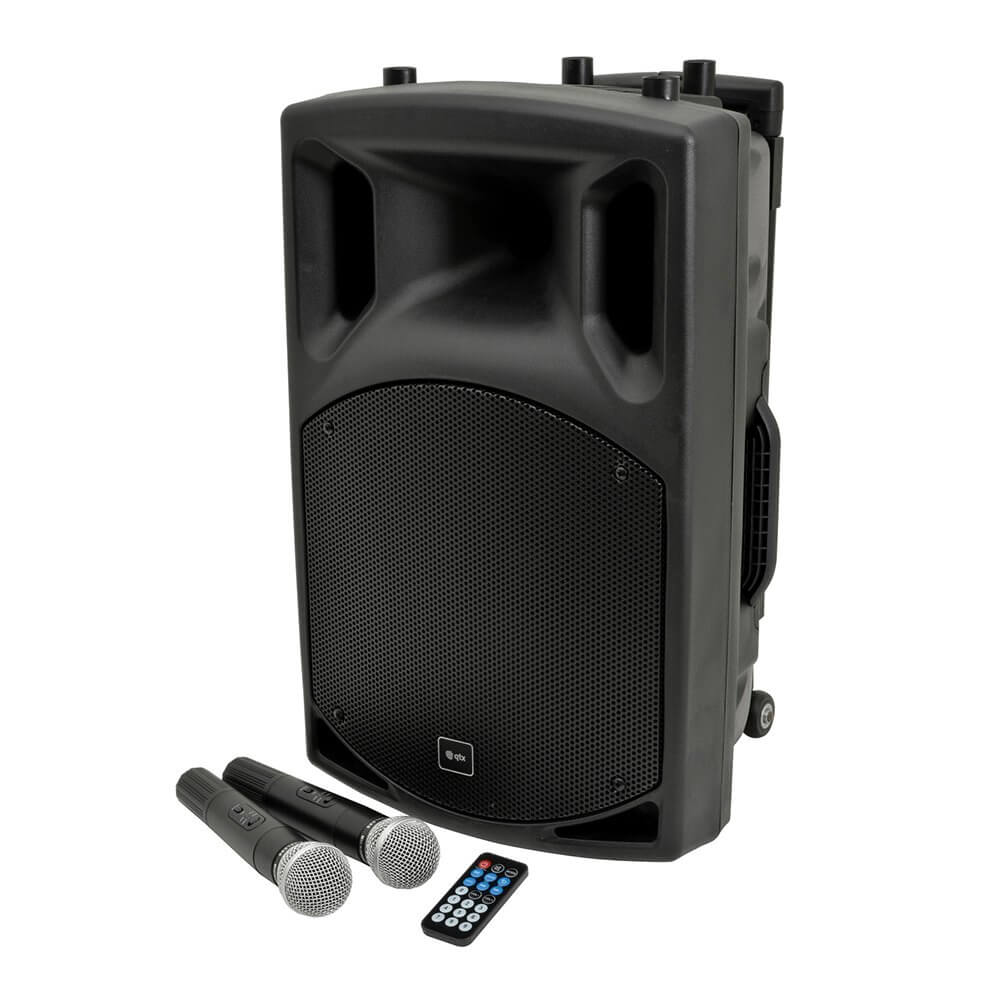 QTX QX12PA Portable PA System Bluetooth High Power 12""