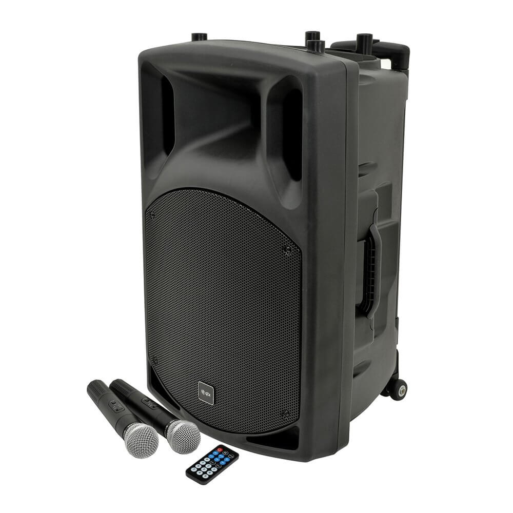 QTX QX15PA Portable PA System Bluetooth High Power 15""