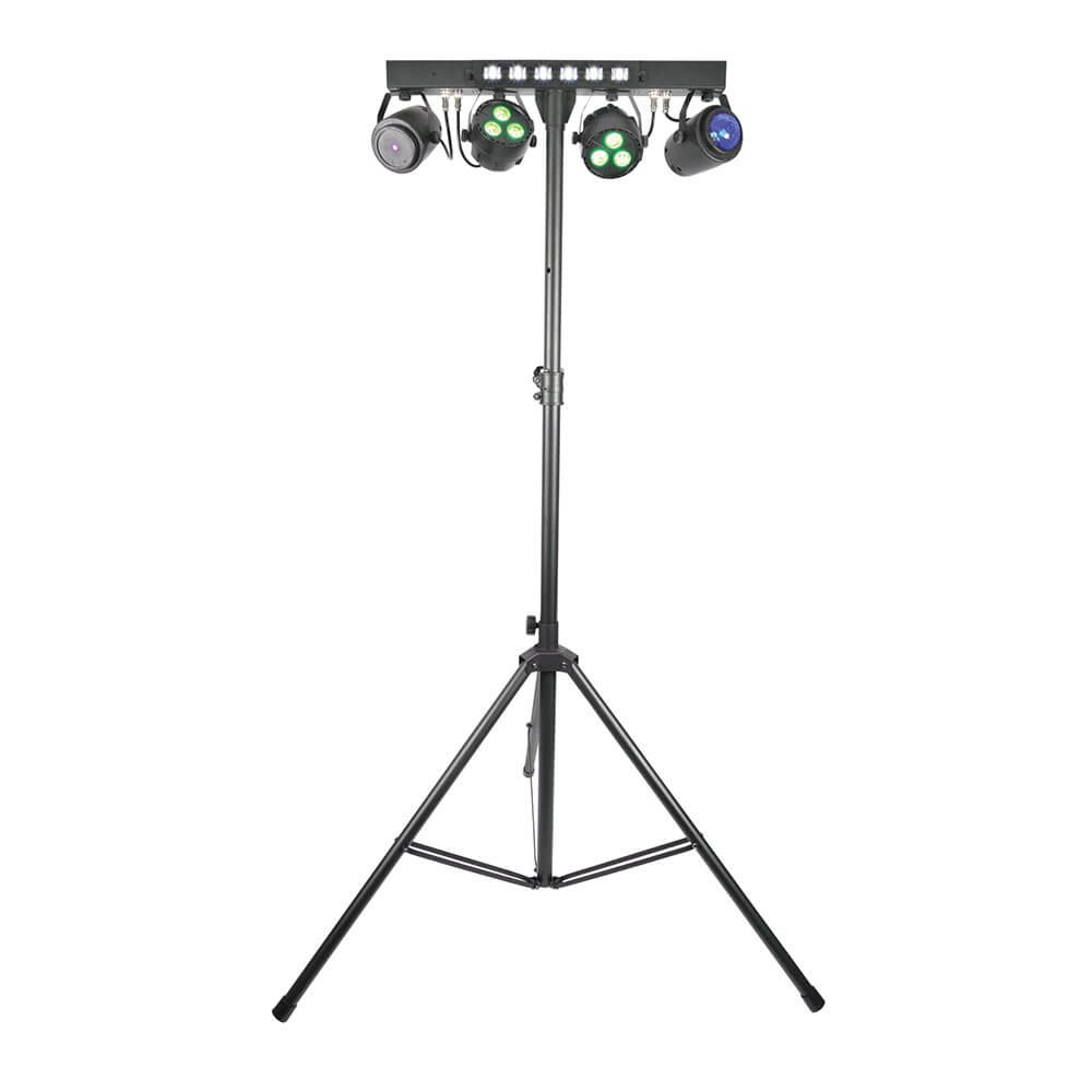 QTX Stage Bar with FX, Laser and UV/Strobe