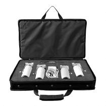 Chauvet DJ EZPin Pack 4 LED Battery Pinspot Package inc Charging Case