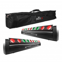 Chauvet PIX-M LED Moving Batten Beam Light DMX USB Disco DJ Lighting Package