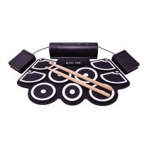Chord D-Mat Electronic Drum Kit Table Top Trigger Pads inc Drum Sticks / Software