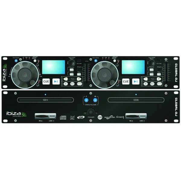 Ibiza Sound Global-DJ Dual CD Player USB SD MP3