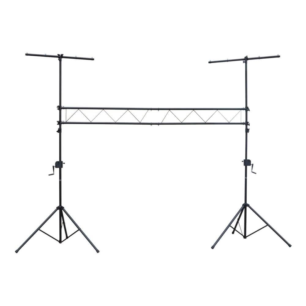 NJS Steel Lighting Bridge with Winch Stands (3m Span)