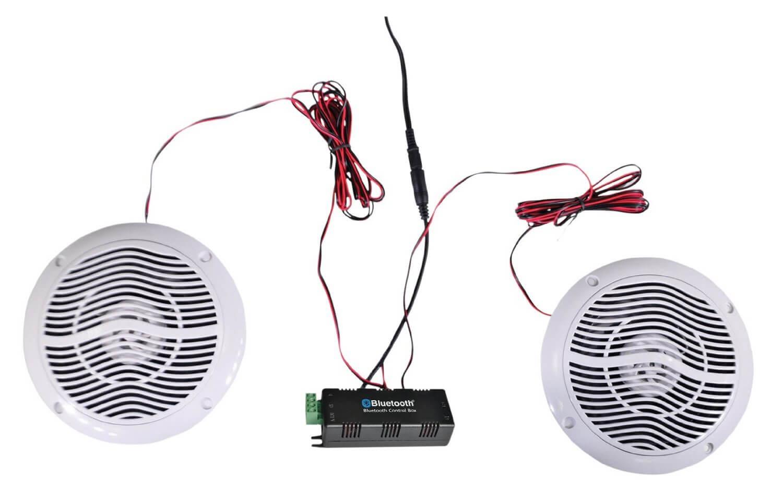 E Audio Round Ceiling Speaker Bluetooth Kit