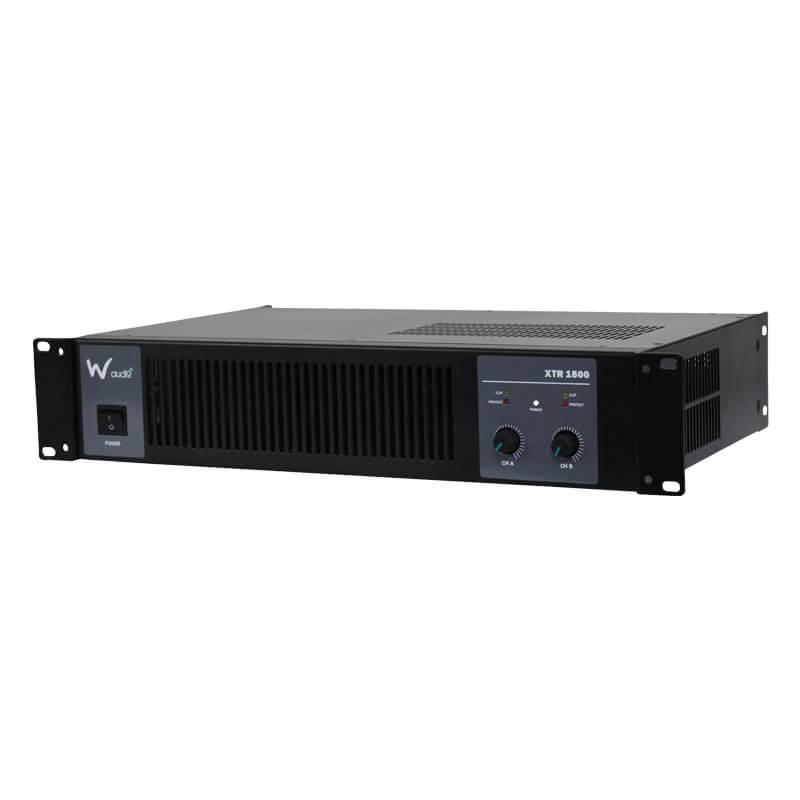 W Audio XTR1500 Power Amplifier 1500W