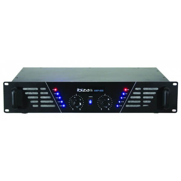 Ibiza Sound Power Amplifier 2 x 480W AMP600