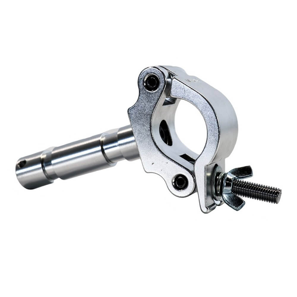 "Duratruss DT Pro Clamp with Spigot 28mm 500kg for 50mm Truss Tube ""Big Ben Clamp"""
