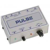 Pulse Microphone Pre Amp Amplifier Phantom Power Gain