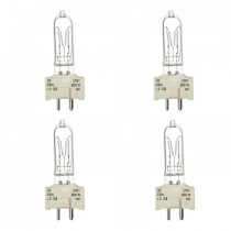 4x GE GY9.5 THEATRE LAMP 300W CP81 Replacement Bulb