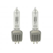 2x GE HPL575 575w 240v lamps