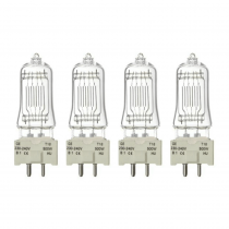 4x GE T18 Theatre Lamps