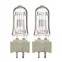 2x GE T25 500W Lamp Bulb for Stage Theatre Lighting 240V GY9.6