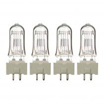 4x GE T25 500W Lamp Bulb for Stage Theatre Lighting 240V GY9.7