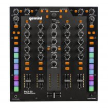 Gemini PMX-20 Digital DJ Performance Mixer Midi Battle Mixer 4 Channel