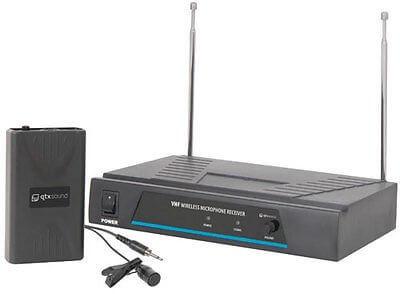 QTX Sound VHF Lapel Microphone wireless radio microphone