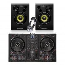 Hercules Inpulse 300 Serato Controller + Monitor Bundle DJ Disco inc Headphones / Leads