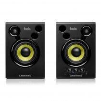 Hercules DJMonitor 42 Speaker Pair DJ Studio Recording Sound System 80W