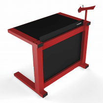 Humpter Console BASIC DJ Booth (Red)